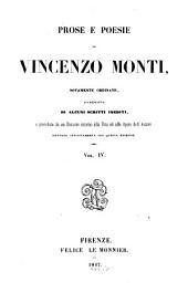 Prose e Poesie: Volume 4