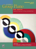 Alfred s Group Piano for Adults    Ensemble Music  Bk 2