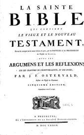 Nouveau Testament, c'est-à-dire La Nouvelle Alliance de notre Seigneur Jésus-Christ