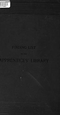 Finding List of the Apprentices  Library     PDF