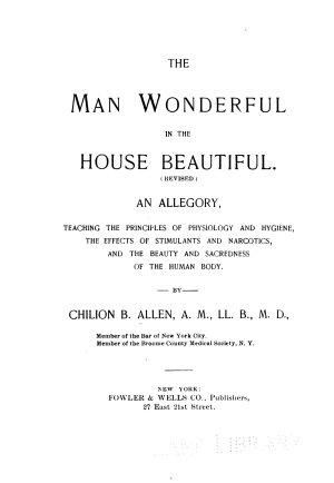 The Man wonderful in the house beautiful PDF