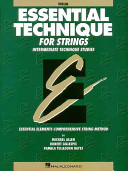 Essential Technique for Strings   Violin PDF