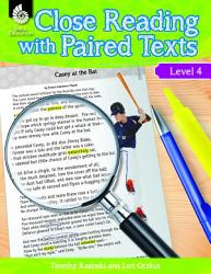 Close Reading with Paired Texts Level 4  Engaging Lessons to Improve Comprehension PDF