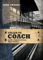 Called to Coach PDF