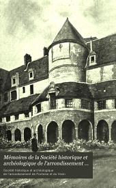 Mémoires de la Société historique et archéologique de l'arrondissement de Pontoise et du Vexin: Volumes21à24