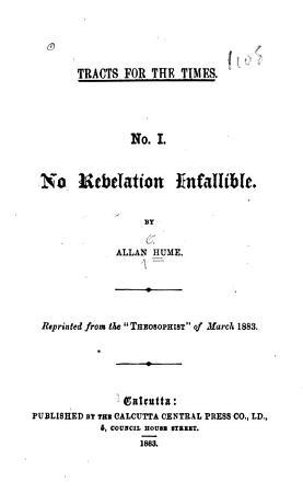 No Revelation Infallible PDF