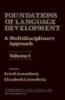 Foundations of Language Development PDF