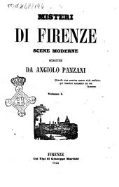 Misteri di Firenze scene moderne: Volume 1