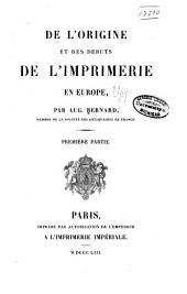De l'invention et des inventeurs de l'imprimerie. [2], xvi, 315 p. 13 facsim. Vol. 2. De la propagation et des premiers propagateurs de l'imprimerie. [2], iv, 452 p