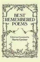 Best Remembered Poems PDF