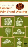 Coconut Palm Frond Weavng PDF
