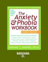 Anxiety   Phobia Workbook PDF