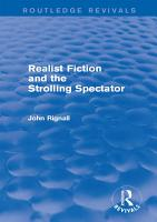 Realist Fiction and the Strolling Spectator  Routledge Revivals  PDF