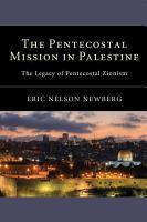 The Pentecostal Mission in Palestine PDF