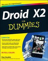 Droid X2 For Dummies PDF