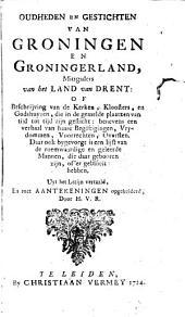Oudheden en gestichten van Groningen en Groningerland