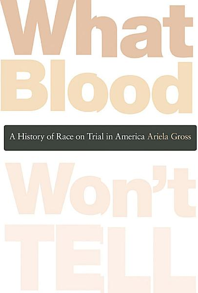 Download What Blood Won t Tell Book