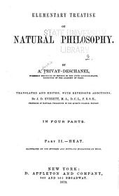 Elementary Treatise on Natural Philosophy: Heat.1874