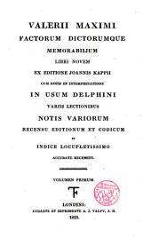 Factorum dictorumque memorabilium Libri novem