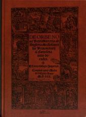 De Orbe Novo, Petri Martyris ab Angleria Mediolanensis protonotarii cesaris senatoris decades