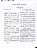 United States of America  9  Treasury Notes of February 15  1987  Series B 1987 PDF