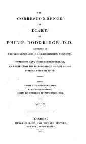 Correspondence and diary: Volume 5