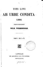 Titi Livi ab urbe condita libri (iterum) recogn. W. Weissenborn: Volumes 1-2