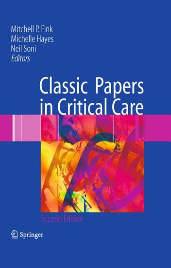 Classic Papers in Critical Care PDF
