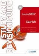 Cambridge Igcse tm  Spanish Study and Revision Guide PDF
