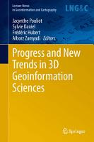 Progress and New Trends in 3D Geoinformation Sciences PDF