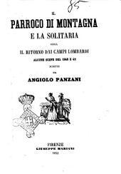 Il parroco di montagna e la solitaria ossia il ritorno dai campi lombardi alcune scene del 1848 e 49