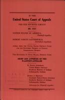 United States of America V  Satterfield PDF