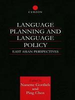 Language Planning and Language Policy