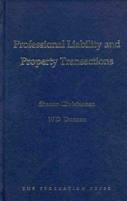 Professional Liability and Property Transactions PDF