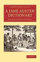 A Jane Austen Dictionary PDF