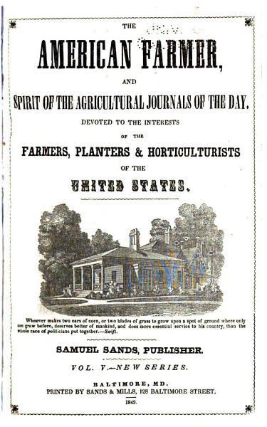 Download The American Farmer Book