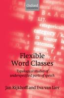 Flexible Word Classes PDF