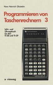 Lehr- und Übungsbuch für den TI-58 und TI-59