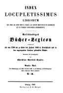 Vollst  ndiges B  cher Lexicon     1750 1910 PDF