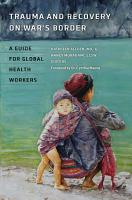 Trauma and Recovery on War s Border PDF