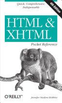 HTML & XHTML Pocket Reference