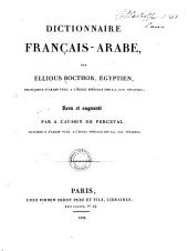 Dictionnaire français-arabe: المجلد 1
