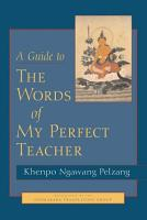 A Guide to the Words of My Perfect Teacher PDF
