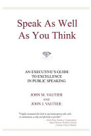 Speak As Well As You Think