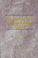 The Supreme Court in United States History PDF