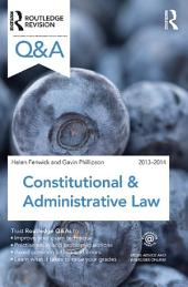 Q&A Constitutional & Administrative Law 2013-2014: Edition 8
