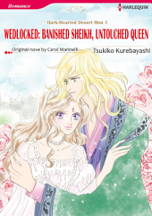 WEDLOCKED: BANISHED SHEIKH, UNTOUCHED QUEEN: Harlequin Comics