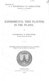 Experimental Tree Planting in the Plains
