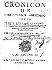 Cronicon de Christiano Adricomio Delfo