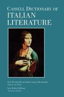 Cassell Dictionary Italian Literature PDF